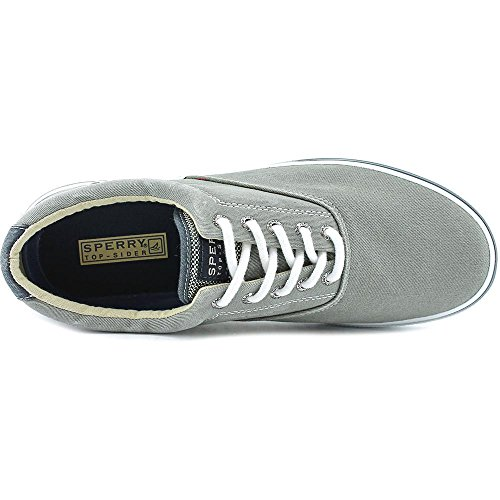 Sperry Top-Sider Mens Halyard Casual Lace Up Shoes Gris