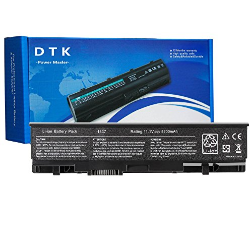 Dtk® Ultra Hochleistung Notebook Laptop Batterie Li-ion Akku für Dell Studio 1535 1536 1537 1555 1557 1558 Pp33l Pp39l 312-0701 Notebookakku Laptopakku Ersatzakku(11.1v 4400mah 6cells)