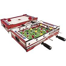 Carromco Table Multi-Jeux 2 en 1 Flip XM, 06002, Red White 7508186119b3