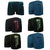 Pesail 2-12er pack Jungen Boxershorts Kids Sport Unterhosen Retroshorts Pants,Gr.160-178