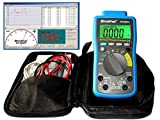 Digital Multimeter HP-90EPC CATIV USB-Anschluss Win10 Software Batterietester Kapazität Frequenz Temperatur Diodentest