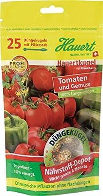 Hauert HBG Dünger 109858 Hauertkugeln für Tomaten 25-Stück von Hauert HBG Dünger AG auf Du und dein Garten
