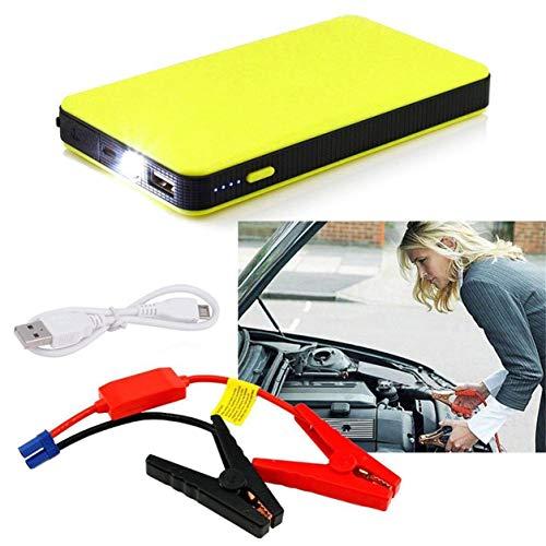Dailyinshop 12 V 20000 mAh Mini Tragbare Multifunktionale Auto Starthilfe Power Booster Ladegerät Notstart Ladegerät, gelb