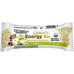 VICTORY ENDURANCE NatureŽs Energy Bar Manzana 60g x 25 unidades