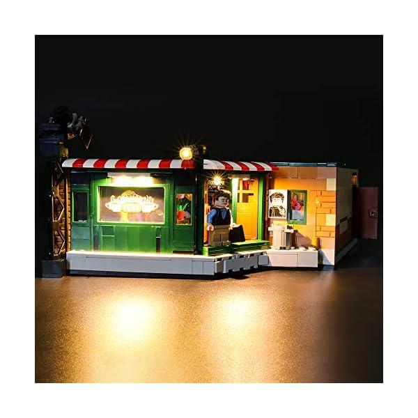 LIGHTAILING Set di Luci per (Ideas Friends Central Perk) Modello da Costruire - Kit Luce LED Compatibile con Lego 21319 (Non Incluso nel Modello) 4 spesavip