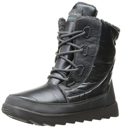 Bottines - Boots, couleur Noir , marque SKECHERS, modèle Bottines - Boots SKECHERS 48803S PEEKABOO Noir Charbon
