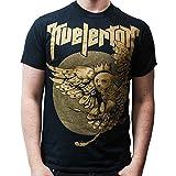Kvelertak - Owl King T-Shirt, schwarz, Grösse XXL