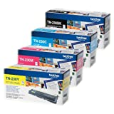 Brother Original TN-230 Toner Multipack passend für DCP-9010 CN, HL-3040 CN, HL-3045 CN. HL-3070, HL-3075 CW, MFC-9120 CN, MFC-9125 CN, MFC-9320 CW, MFC-9325CW