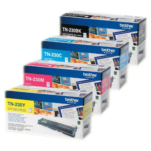 Brother Original TN-230 Toner Multipack passend für DCP-9010 CN, HL-3040 CN, HL-3045 CN. HL-3070, HL-3075 CW, MFC-9120 CN, MFC-9125 CN, MFC-9320 CW, MFC-9325CW (Brother Toner 9120)