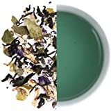 Karma Kettle Blue Lagoon-Lemongrass Tea with Lime, Refreshing Tea, Summer Tea, Butterfly Pea Flower, Citrus and Zesty Iced Brew, 20 Silken Pyramid Teabags