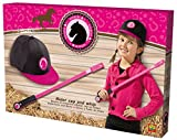 SES Creative 09112 - Verkleidungsset Reiter, pink