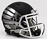Oregon Ducks Speed Mini Helmet - Titanium Black Eclipse by Riddell