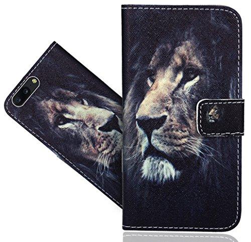 Preisvergleich Produktbild OnePlus 5 Handy Tasche, FoneExpert® Wallet Case Flip Cover Hüllen Etui Hülle Ledertasche Lederhülle Schutzhülle Für OnePlus 5