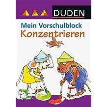 Duden - Mein Vorschulblock - Konzentrieren