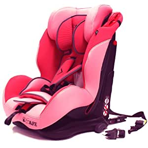 isafe S06W Isofix Duo Trio Plus Isofix and Top Teether Car Seat (Pink)