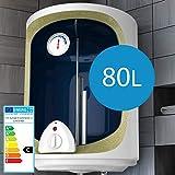 Elektro Warmwasserspeicher - Größenwahl 30,50,80,100 Liter Speicher, 1500W Heizleistung und Thermometer - Boiler, Wasserboiler, Warmwasserboiler