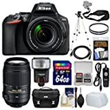 Nikon D5600 DSLR Camera (24.2MP, Black)