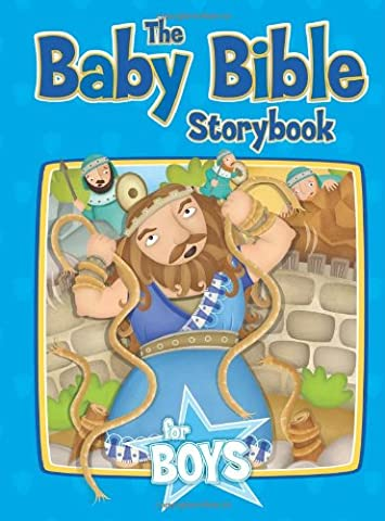 The Baby Bible Storybook for Boys (Baby Bible Board Books)