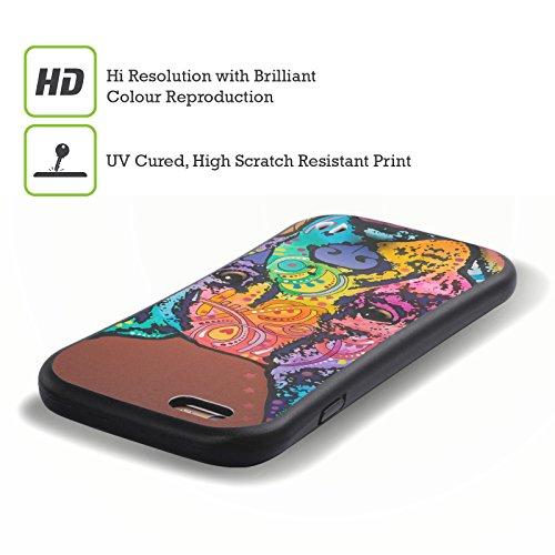 Ufficiale Dean Russo Lucy Cani 4 Case Ibrida per Apple iPhone 7 Plus / 8 Plus Priya