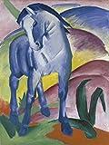 Artland Qualitätsbilder I Poster Kunstdruck Bilder 30 x 40 cm Tiere Haustiere Pferd Malerei Bunt C1LJ Blaues Pferd I 1911