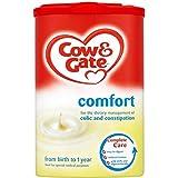 Cow & Gate Comfort Première lait en poudre de la naissance pour les coliques et constipation (900g) - Paquet de 6