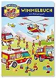 Unsere Feuerwehr • Wimmelbuch mit Rätselspaß