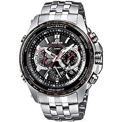Casio Reloj Analógico de Cuarzo para Hombre con Correa de Acero Inoxidable – EQW-M710DB-1A1ER