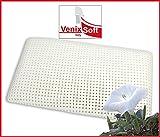 venixsoft Coussin Oreiller mémoire de forme (memory foam) thermosensible, KING 72cm x 42cm x 16cm, avec des microtrous pour une meilleure transpiration, taie d'oreiller en coton amovible et lavable