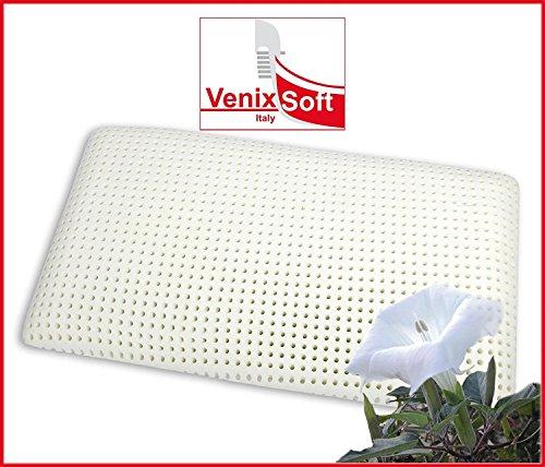 Kissen Kopfkissen VENIXSOFT Memory-Schaum (Memory Foam) Wärmeempfindliches, KING 72cm x 42cm x 16cm, mit Baumwollfutter, Made in Italy