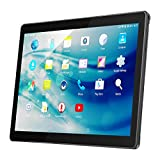 10.1 Pouces Android Tablette Tactile,QIMAOO 1280x800 HD IPS Ecran d'Affichage Quad Core Tablette PC à Double Caméra avec Slot de SIM Carte,Supporter Wifi,GPS,Bluetooth 4.0,Google Play Store,Youtube,Jeux(2GB RAM+32GB ROM,Noir)