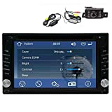 Hot Sale!!! Double 2DIN Windows 6.0 In dash 6.2 inch GPS Voice Navigation Free 8GB MAP Card HD:800*480 digital Touch Screen SD/USB Support FM Transmitter AM RDS Subwoofer Output Autoradio with Steering Wheel Control 3D Interface Bluetooth Car logo Multi- OSD Languages Remote Control 1 Year Warranty Wireless rearview camera included! bluetooth car dvd player gps audio stereo
