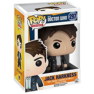Doctor Who Funko Pop Jack Harkness 297 Coleccionista figura