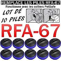 Lot DE 10 Piles SB-67 Compatible PETSAFE RFA-67 6V Lithium   REMPLACE Les Piles RFA-67   pour Collier PETSAFE   Anti-Fugue   Anti-ABOIEMENT   Dressage ETC.