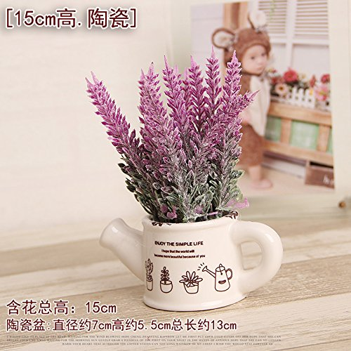 Fiori Artificiali Exquisite ceramica Flower Bud decorazioni di simulazione in vaso, ufficio, negozio decorati fiori artificiali, pallido grigio