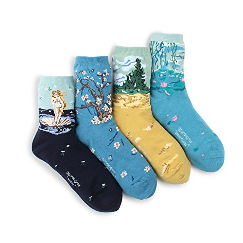 Intype Damen Socken Gr. 36-39, Crew(ae) 4pairs