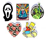 #4: Camo Heart Pack Stickers Set for Guitar,Laptop and Skateboard