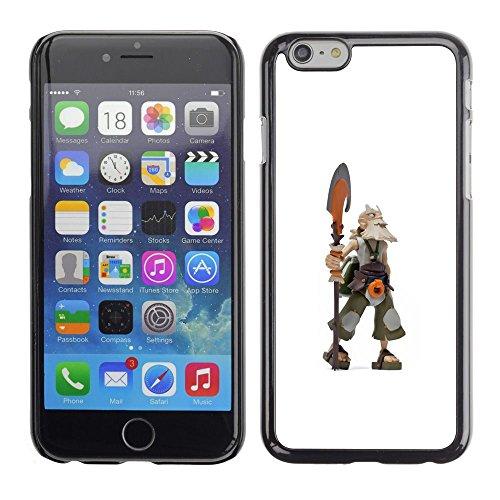 FlareStar Colour Printing Viking Warrior Cgi Axe Graphics Computer Cassa Cover Guscio di plastica per Apple (5.5 inches!!!) iPhone 6 Plus