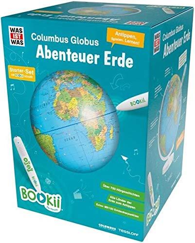"""BOOKii WAS IST WAS Columbus Globus \""""Abenteuer Erde\"""". Mit Hörstift"""