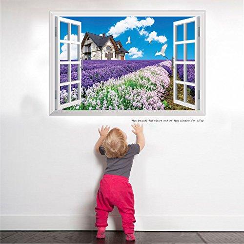 YUCH Mural 3D Solide Salon Canapé Contexte Mural pour Maison des Enfants Décoration Imperméable,7,60 * 90 Cm,