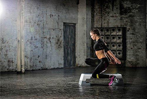 Reebok Step blau weiss Stepper 7.5 kg Steppbrett Step Aerobic Training Fitness - 6