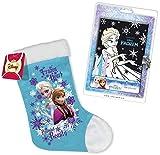 2in1-SET Disney Die Eiskönigin Tagebuch mit Schloss (inkl. 4 Stiften) + Weihnachtsstiefel | Frozen Weihnachts-Set