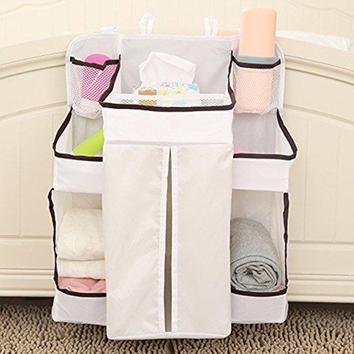 Windelwechsel Organizer, Baby Windel Kinderzimmer Baby Bettwäsche zum Aufhängen Tasche