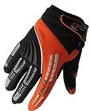 Qtech – Kinder Motocross-Handschuhe – Blau - 6