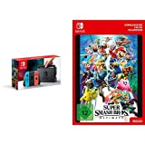 Nintendo Switch Konsole Neon-Rot/Neon-Blau + Super Smash Bros. Ultimate [Switch Download Code]