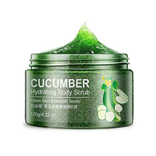Scrub Gesichtsreiniger Tiefenreinigung Peeling Feuchtigkeitscreme Hautpflege, wesentliche Pflanzenpeelingkörnchen, saubere Haut, milde Reinigung der Hautoberfläche