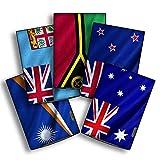 atFolix Designfolie kompatibel mit Sony PRS-T1 Reader, Skin Aufkleber (Flaggen aus Australien und Ozeanien)