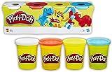Play-Doh-B6510 Pack 4 Botes (Hasbro B5517)
