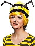 Orlob Kostüm Zubehör Mütze Biene mit Fühlern Karneval Fasching