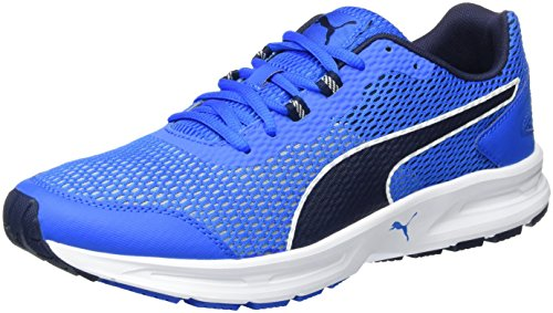 Puma Descendant V4, Sneaker Uomo, Blu (Electric Blue lemonade-PEACOAT-puma White 03), 46