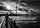 Düsseldorf Ansichten in Schwarz-Weiß (Wandkalender 2019 DIN A2 quer): Düsseldorf - Faszination in Schwarz-Weiß (Monatskalender, 14 Seiten ) (CALVENDO Orte) - Klaus Hoffmann